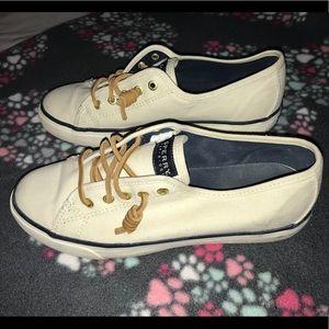 Women's Sperry slip on sneakers